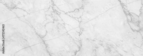 Foto op Aluminium Stenen White marble texture background, abstract marble texture (natural patterns) for design.
