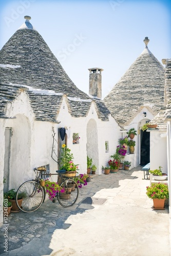 Alberobello Canvas Print