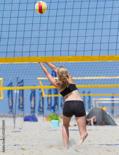 Fotografie, Obraz  Volleyball on the beach