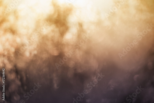 Photo sur Toile Les Textures Abstract blurry bokeh background