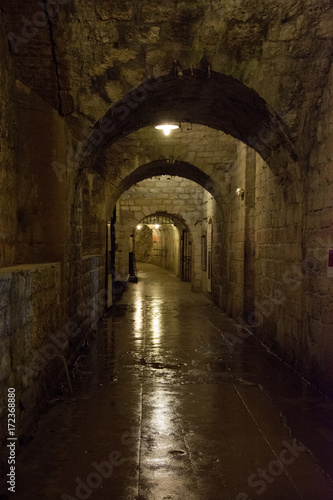 Fototapeten Schmale Gasse Fort Douaumont Verdun