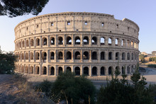 Coliseum At Sunrise From The M...