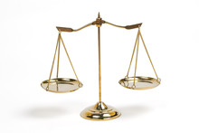 Golden Scales Of Justice For L...