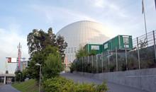 Facade Of The Sport-concert Globe Arena, Stockholm, Sweden