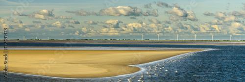 Fotografie, Obraz  Sandbank im Wattenmeer