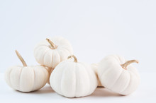 Simple White Pumpkins For Fall...