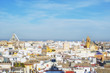 Panoramic view of Seville, Spain