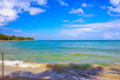 In de dag Afrika Caribbeam beach