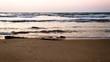 Ocean at Dusk Time
