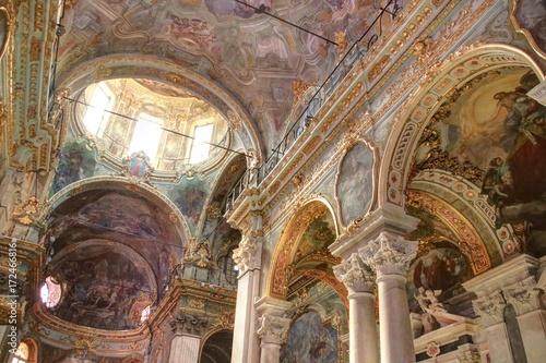 Fotografie, Obraz  dans les rues et les églises de Gênes en Italie