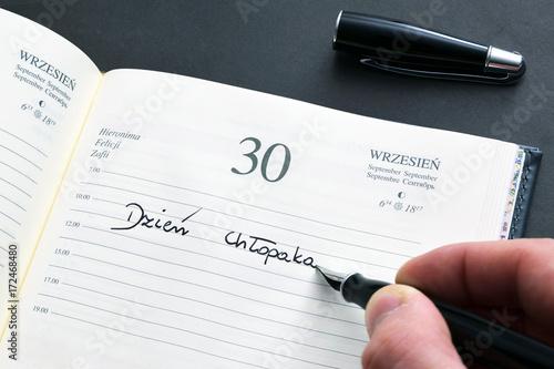 Kalendarz, 30 września. Dzień chłopaka.