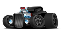 Hot Rod Vintage Coupe Custom C...