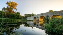 Autumn Milton Ferry Bridge