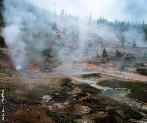 Fototapeta Yellowstone obraz na płótnie