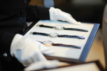 Watches For Sale In Luxury Shop