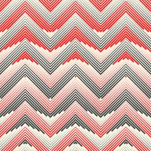 Modern Zigzag Background. Trendy Fabric Pattern
