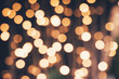 Leinwandbild Motiv christmas festive lights