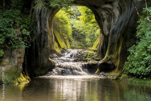 Foto 君津市の濃溝の滝
