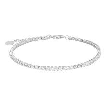 Silver Bracelet, Isolated On W...