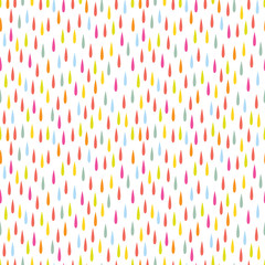 FototapetaColorful raindrop pattern design