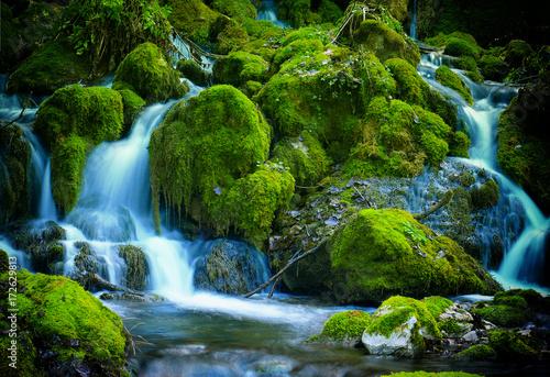fototapeta na ścianę Mountain stream