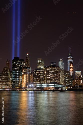 Fotografia  Commémoration du 11 Septembre 2017 sur Manhattan