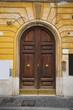 Beautiful door in Rome, Italy