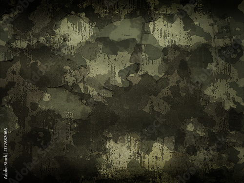 Camouflage military background - 172682066