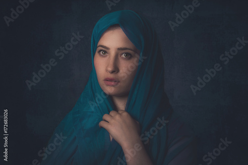 Fototapeta Beautiful Arabic Woman