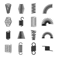 Metal spring icon