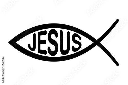 Jesus Fish Symbol Sign Of The Fish A Symbol Of Christian Art With