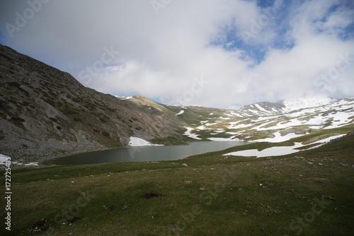 Poster Reflexion Lago della duchessa Lazio Abruzzo