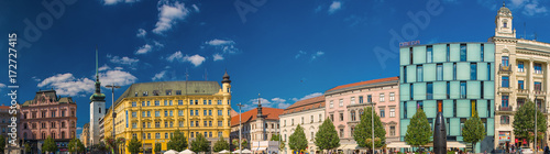 :View on the old town of Brno, Czech Republic