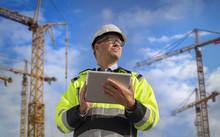 Construction Engineer Wearing ...