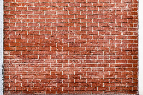 Red Brick Wall Background - 172736491