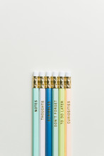 Colorful Pencils Printed With ...