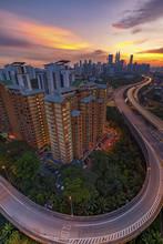 Kuala Lumpur Skyline View