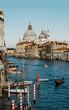 View of the Santa Maria Della Salute and Grand Canal.Venice/Italy