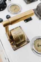 Brass Ship's Throttle