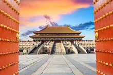 Forbidden City In Beijing,China