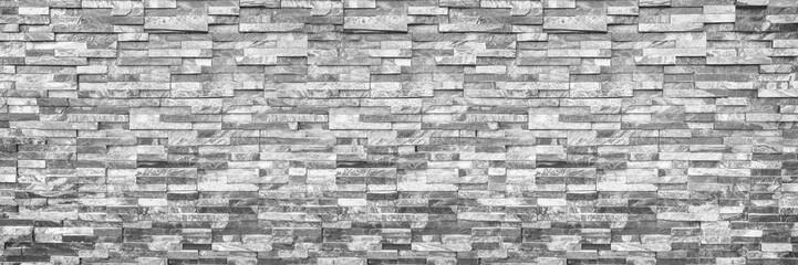 vodoravni moderni cigleni zid za uzorak i pozadinu