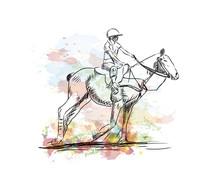 Watercolor Sketch Of Equestria...