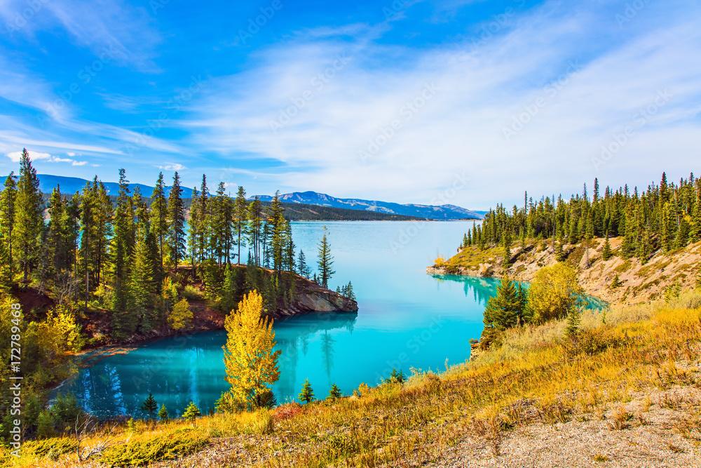Photo  Abraham Lake