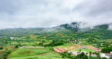 Landscape Of Khao Kho District...