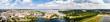 Leinwanddruck Bild - Panorama Schweriner Schloss