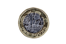 New One Pound Coin Of England ...