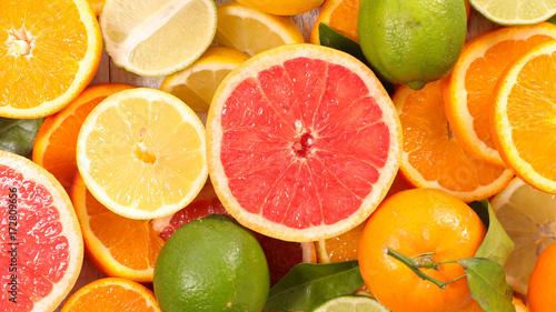 Obraz na plátně  citrus fruit