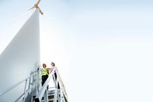 The Work Of Wind Turbine Power...