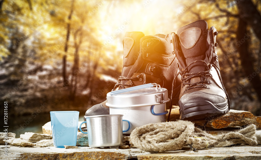 Fototapety, obrazy: autumn shoes