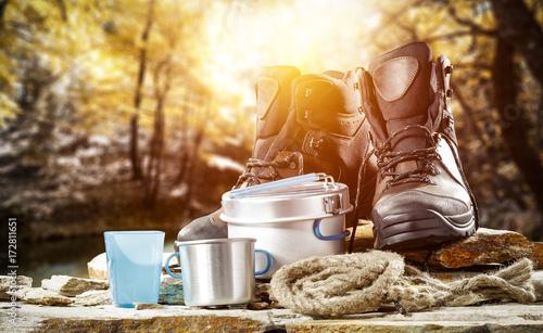 Fototapeta autumn shoes  obraz